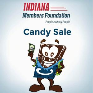 candy sale icon for social